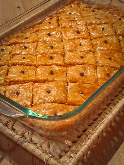 Holly Chase's Baklava
