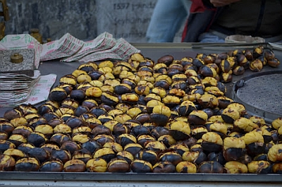 Roasting Chestnuts in Istanbul