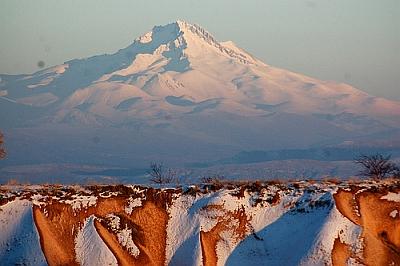 Erciyes Dagi Volcano