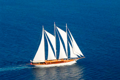 gallileo under sail Mega Yacht Charters