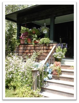 glp front porch Vintage Beachside Cottage