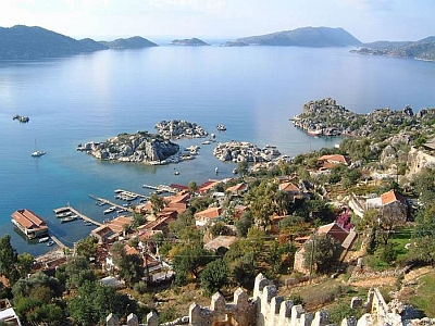 Kekova from the Castle