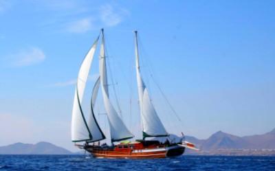 Gulet Under Sail
