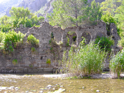 olympos aqueduct A Day on a Gulet