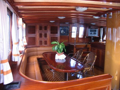 Typical Deluxe Yacht