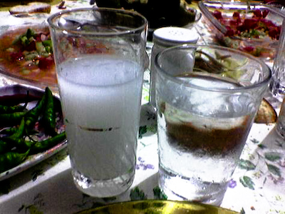 raki service A Day on a Gulet
