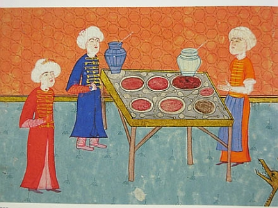 Ottoman jam makers Ramazan in Turkey