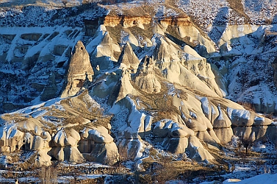Cappadocia tufa cones